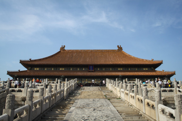 The Hall of Supreme Harmony, The Forbidden City, Beijing. Photo Credit: N. McGee