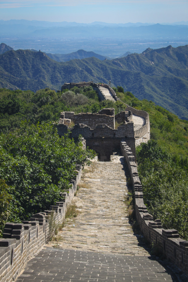 A Lonely Section of Mutianyu Great Wall, Outside Beijing. Photo Credit: N. McGee