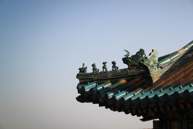 Detail of a Royal Eve at the Summer Palace, Beijing. Photo Credit: N. McGee
