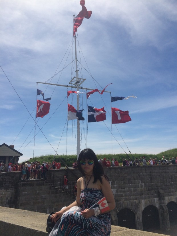 Canada Day at Citadel hill