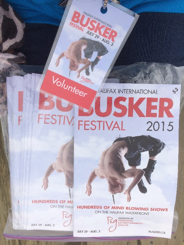 Programmes from the Buskerfest