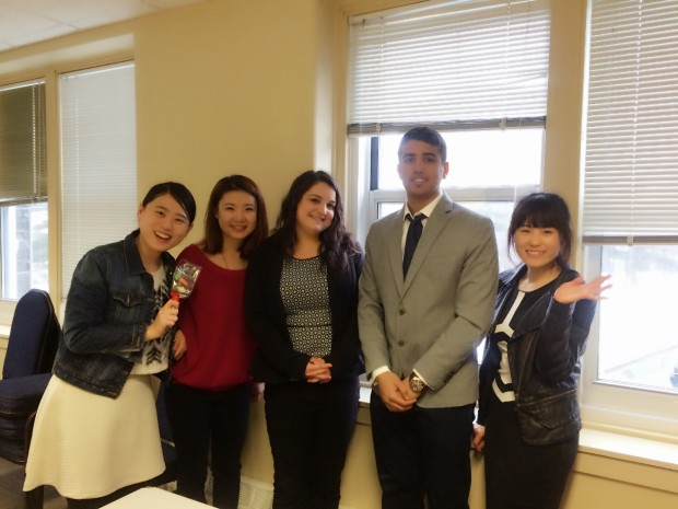 My dear tutor Lisa and classmates